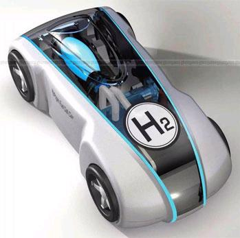 Hydrogen car